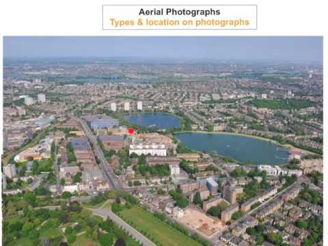 Aerial Photographs - Types & Location on Photographs