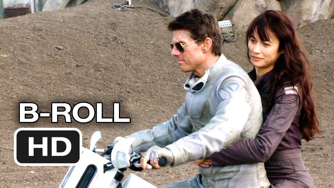 oblivion complete b-roll (2013) - tom cruise, morgan freeman sci-fi