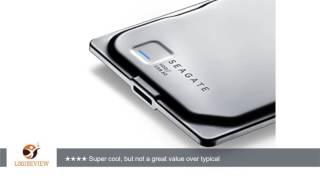 Seagate Seven 750GB Portable External Hard Drive, Silver (STDZ750100)   Review/Test