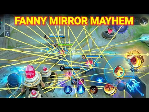 1000000 CABLES!! Dwi Woii + NoobQueen + Patrick + Nova ML + Randy25 Fanny In Mirror Mayhem!!