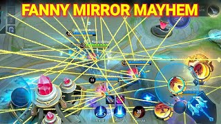 Download lagu 1000000 CABLES!! Dwi Woii + NoobQueen + Patrick + Nova ML + Randy25 Fanny In Mirror Mayhem!!