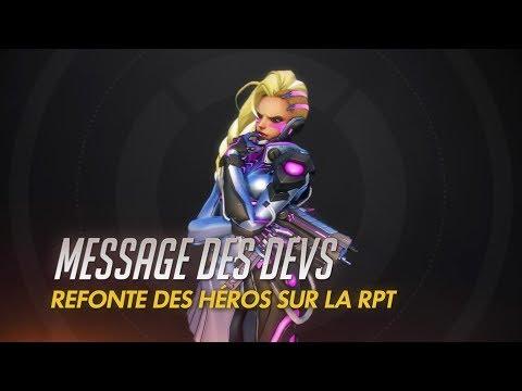 Message des devs – Refonte des héros sur la RPT