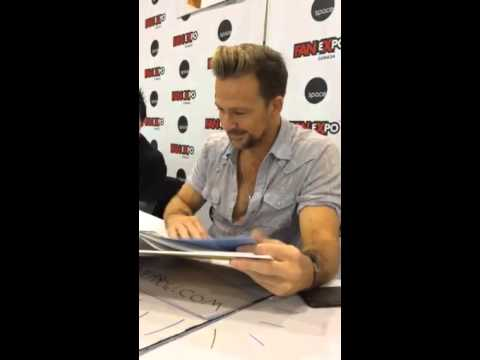 Sean Patrick Flanery at Expo Canada