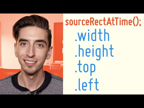 sourceRectAtTime(); | After Effects Expressions