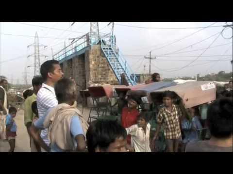 Nandlal slum clothes donation