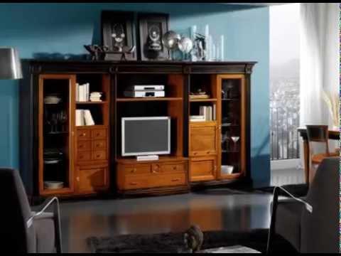 Muebles de salon macizos estilo clasico pero actuales for Muebles salon comedor actuales