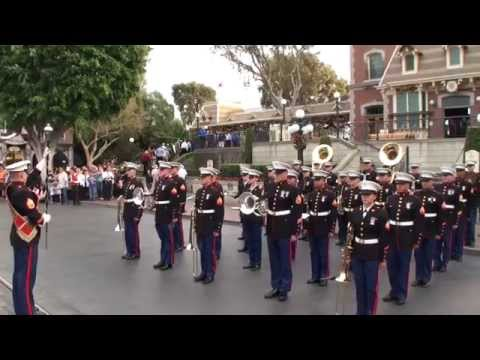 1st Marine Division Band - Disneyland - Veterans Day 2014
