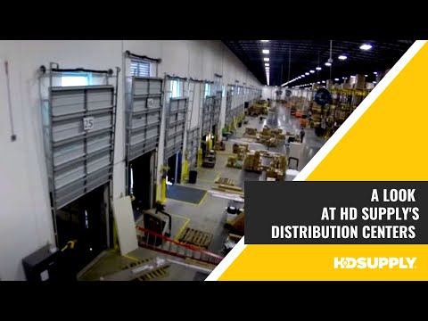Inside HD Supply's Distribution Centers