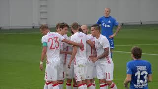 национальная сборная России сыграла с московским «Динамо»