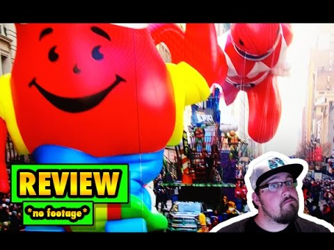Macy's Thanksgiving Day Parade Full 2015 REVIEW/THOUGHTS