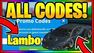 *ALL* OP WORKING CODES! Roblox Vehicle Tycoon