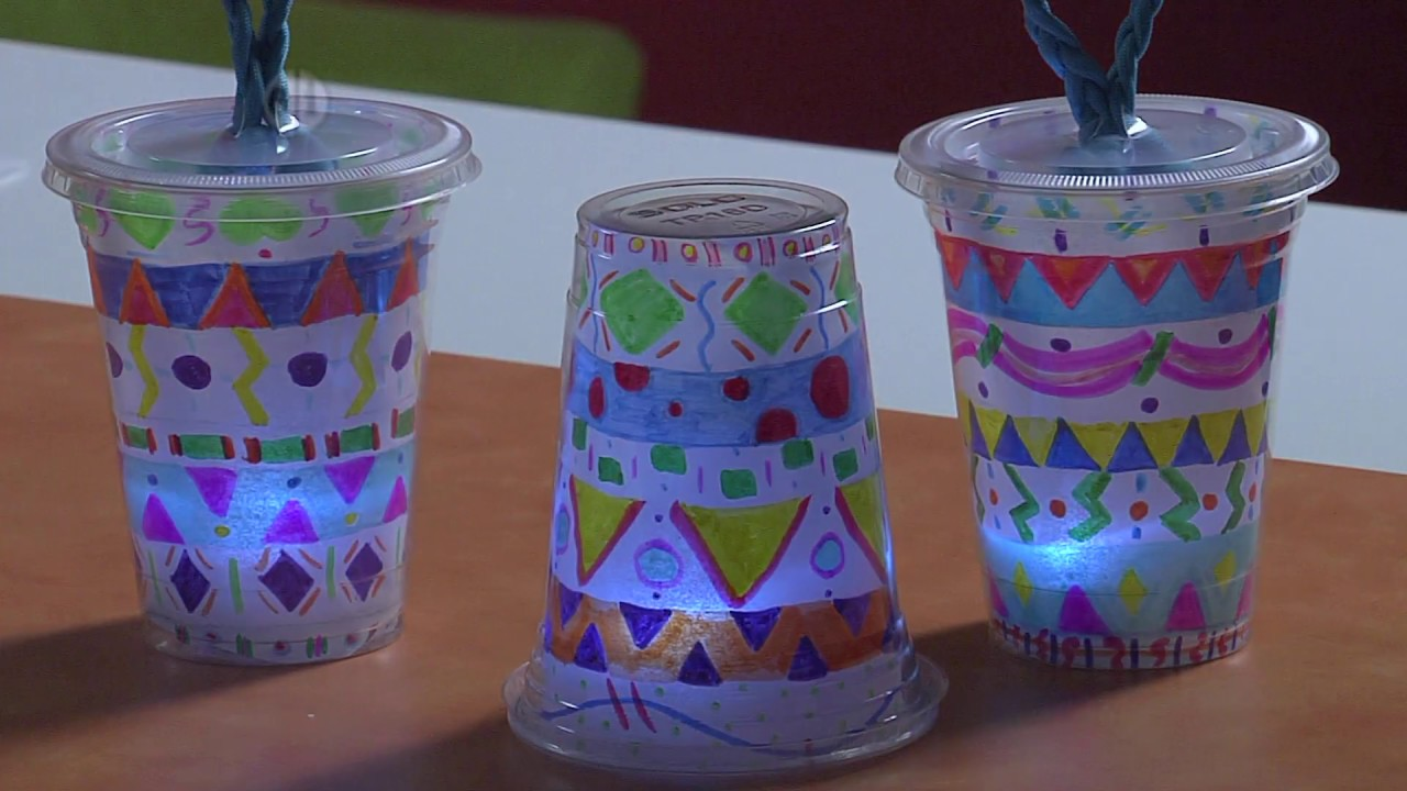 Diy Glowing Lanterns Project For Kids Youtube