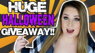 HALLOWEEN MAKEUP GIVEAWAY | Body Paint & Special FX Makeup Starter Kit Giveaway 2016