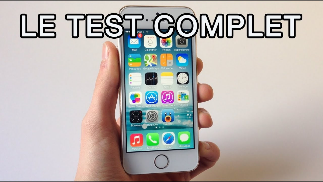 iphone 5s le test complet photo video touch id la 4g rapidit youtube