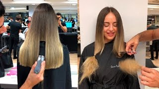Long Hair Cut Off | Best Hairstyles Tutorials Compilation 2018