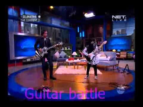 Battle Gitar Meliani Siti Sumartini dengan Piyu Padi