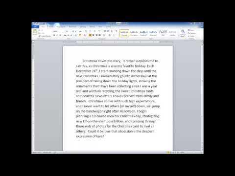 UST Educational Research - Sample Paragraph Practice