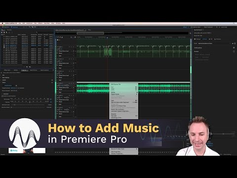 How to Add Background Music in Adobe Premiere Pro