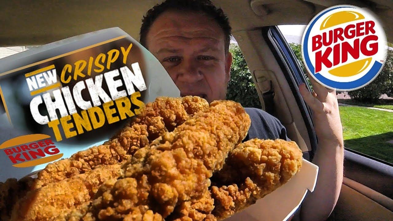Burger King Crispy Chicken Tenders Food Review