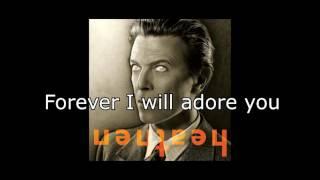 5:15 The Angels Have Gone   David Bowie + Lyrics