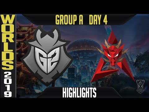 G2 vs HKA Highlights Game 1 | Worlds 2019 Group A Day 4 | G2 Esports vs Hong Kong Attitude