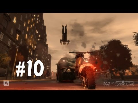 22) GTA IV - Трюки, Аварии и Приколы! (Stunts, Crashes and Fun!)