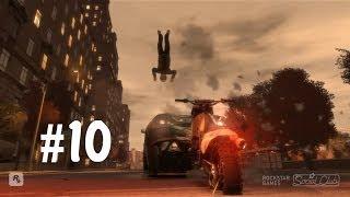 GTA IV - Приколы, Трюки и Аварии! (Stunts, Crashes and Fun!) #10