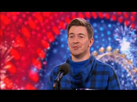 Видео: Britains Got Talent - Tobias Mead, Dancer, 22