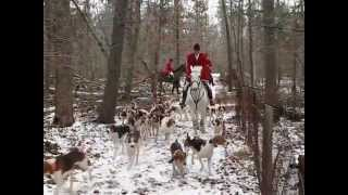 Mounted Foxhunting can be cold, bleak and miserable or crisp, brigh...