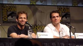 Comic-Con Reacts to Man of Steel Trailer