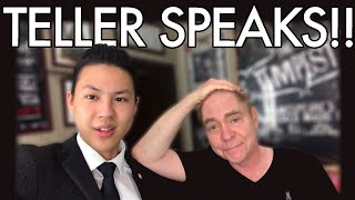 Watch me return and fool penn & teller: https://www./watch?v=a1khv_w1m9kit was crazy watching my 1st performance with hero in magic, teller. ye...