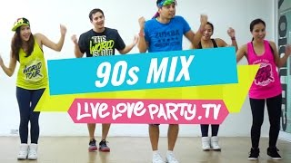 90s Mix [WATCH ON COMPUTER] | Zumba® | Live Love Party