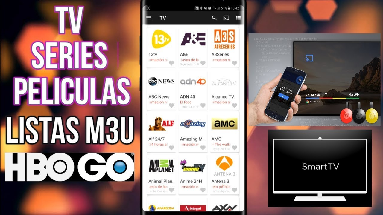 HBO GO - TV SERIES PELICULAS Y LISTAS M3U IPTV - OTRA ALTERNATIVA - #HBOGO