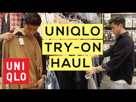 Uniqlo Try-On Haul | Mens Fashion 2018