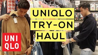 Uniqlo Try-on Haul | Men's Fashion 2018