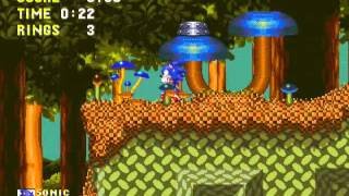 Sonic and Knuckles - Sonic and Knuckles (Sega Genesis) - Vizzed.com GamePlay - User video