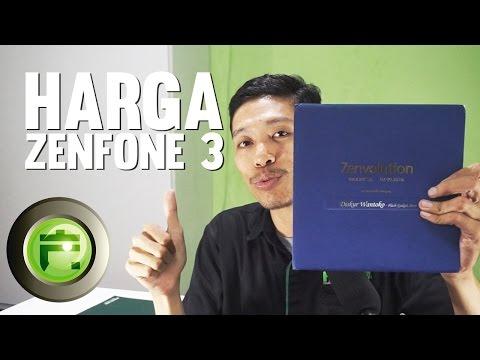 HARGA ZENFONE 3 DAN ZENVOLUTION INDONESIA
