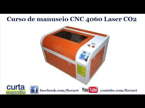 curso de manuseio cnc laser 4060 60w youtube
