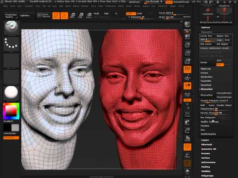 ZBrush 4R6: A Look At ZRemesher