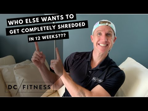 GET COMPLETELY SHREDDED OR LOSE 25+ POUNDS IN 12 WEEKS