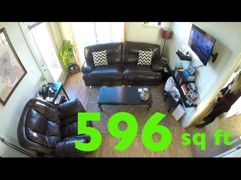 A tour of our small 1BD/1BA Colorado apartment