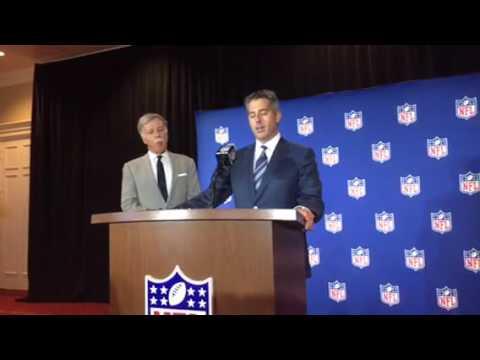 Stan Kronke, Casey Wasserman On LA Winning 2021 Super Bowl Bid