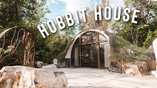 Hobbit House Airbnb Tour! | Dome Home With A Waterfall!