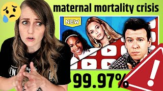 The REAL Numbers | ObGyn discusses US Maternal Mortality Crisis and Philip DeFranco's Video