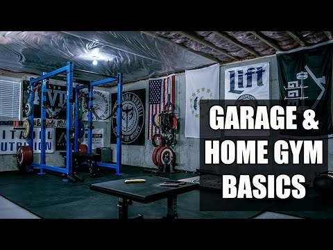 How To Build A Home Gym (The Basics)