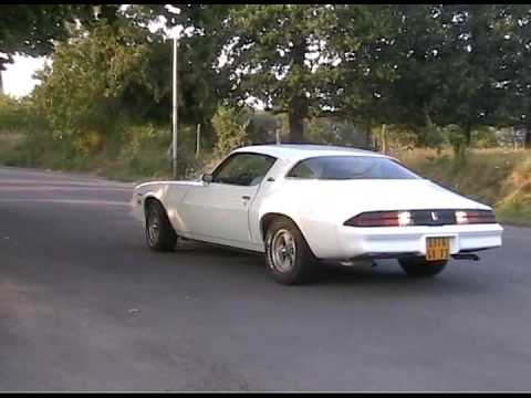 Old Rushes Of My Camaro Berlinetta 1979 YouTube