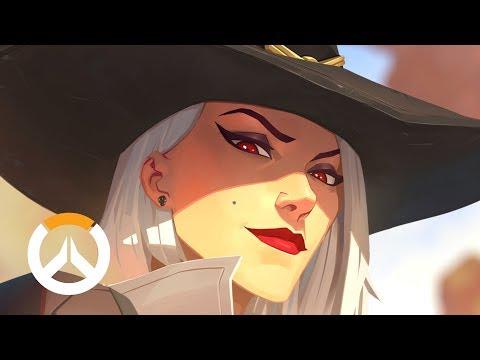 История героя: Эш | Overwatch