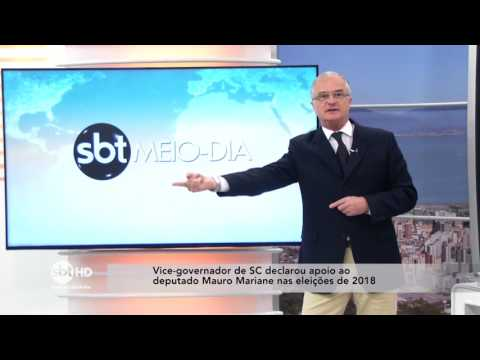 Vice-governador de SC declara apoio ao deputado Mauro Mariane nas eleições de 2018