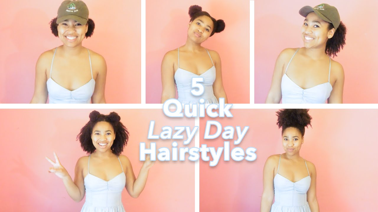 lazy hair day styles 5 quot lazy day quot hairstyles hair 3572