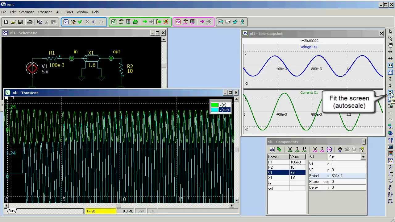 Electronic Circuit Simulator Online Java